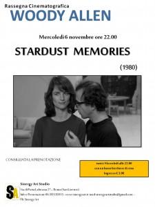 Stardust Memories_locandina